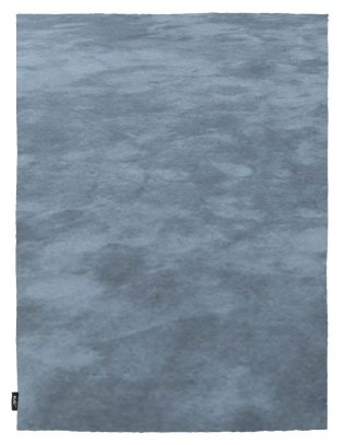 Pure Silk Object Carpet Teppich, moonstone