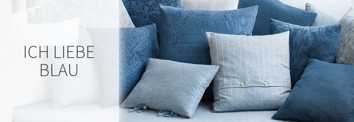 Interieur in Blau