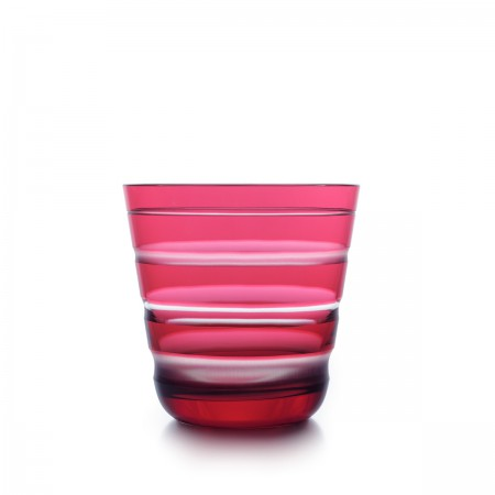 Lineal Rotter Glas in rosé