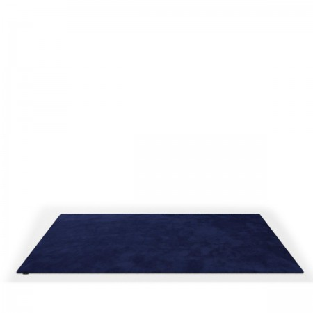 Object Carpet Teppich in lapis aus Seide