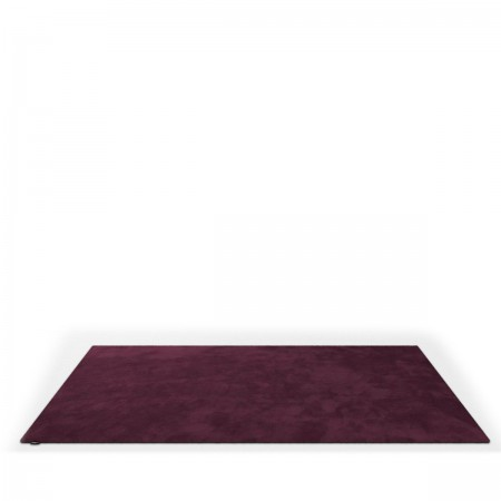 Object Carpet Teppich in ruby aus Seide