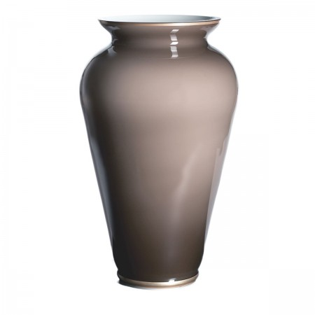 Opalglas Vase Pure in toffee