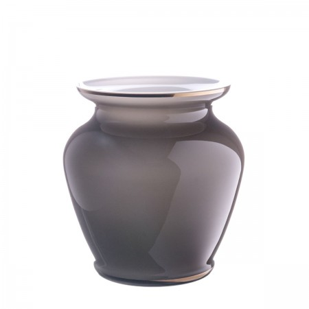 Oertel Pure Vase in toffee