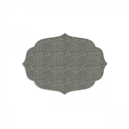 Edition Silhouette Object Carpet Teppich 05, silver loop