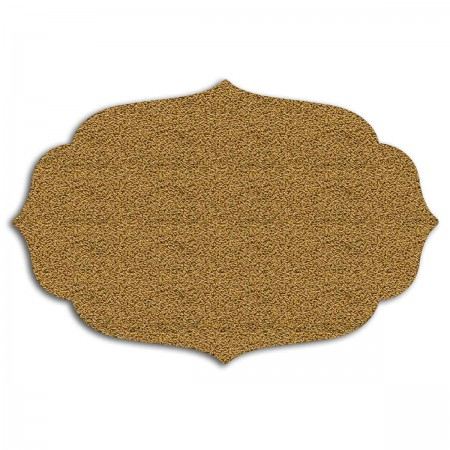 Edition Silhouette Object Carpet Teppich 06, gold loop