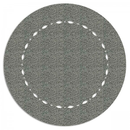 Edition Silhouette Object Carpet Teppich 13, silver loop