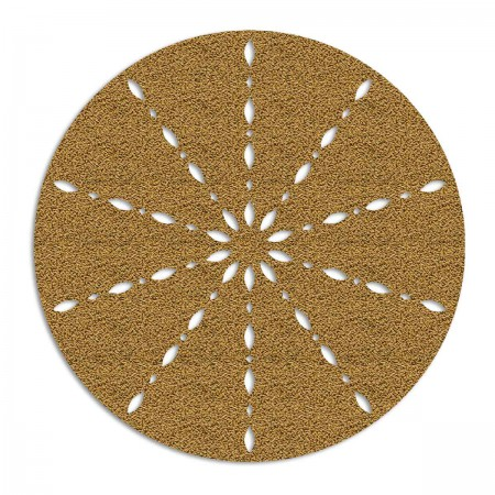 Edition Silhouette Object Carpet Teppich 14, gold loop