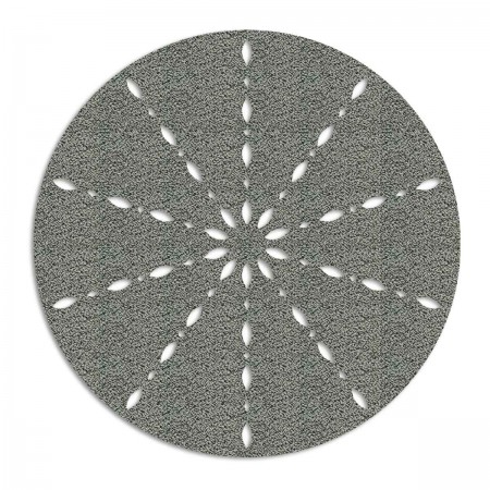 Edition Silhouette Object Carpet Teppich 14, silver loop