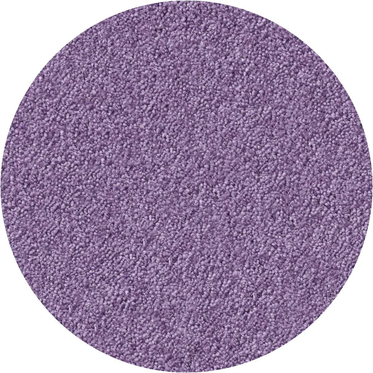silky seal teppich lavendel rund 2 00 m object carpet. Black Bedroom Furniture Sets. Home Design Ideas