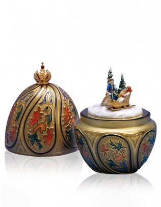 Russian Winter Kreation St. Petersburg Collection by Theo Fabergé