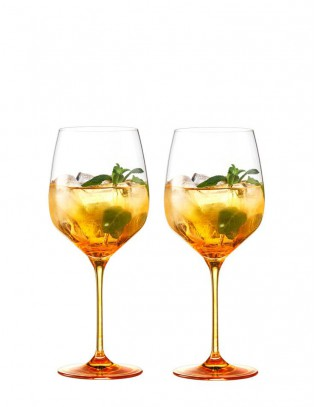 Secco Flavoured Eisch Glas-Set Spritz Orange